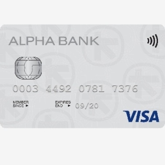 Plata prin card de credit emis de Alpha Bank