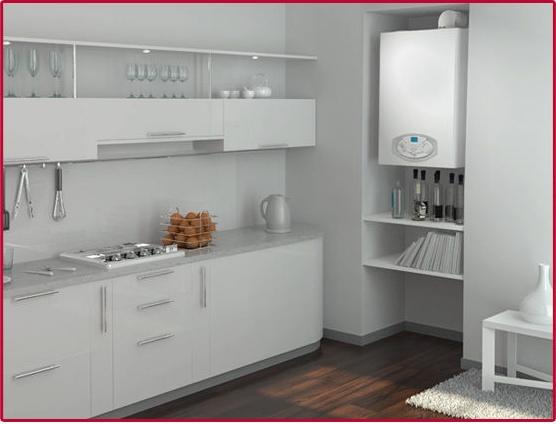 Centrala termica condensatie Ariston Clas B Premium Evo - exemplu de montaj