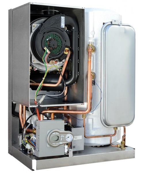 CENTRALA TERMICA BLUEHELIX 32KW K50 cu boiler inox 50 litri - vedere interioara (fara capac)