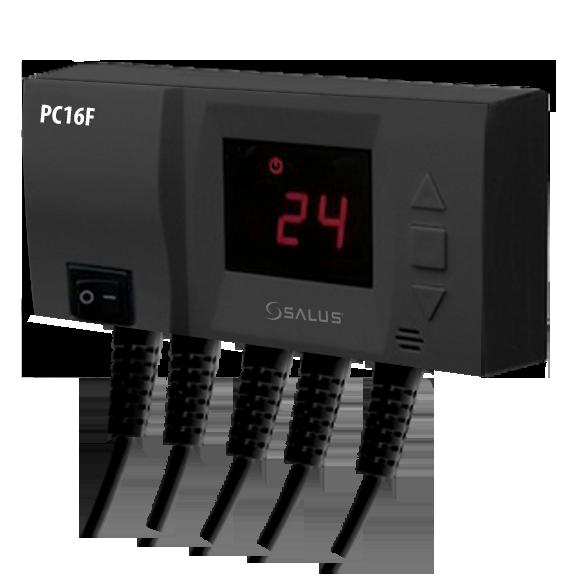 Controler electronic pentru pompa si ventilator Salus PC16F