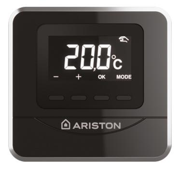 CENTRALA TERMICA IN CONDENSATIE ARISTON ALTEAS ONE termostat de ambient CUBE