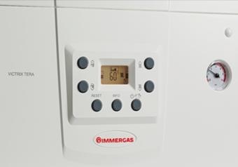 Centrala termica pe gaz in condensatie Immergas VICTRIX TERA COMBI - panou de comanda