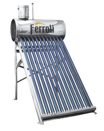 Panou solar cu boiler nepresurizat din inox Ecosole
