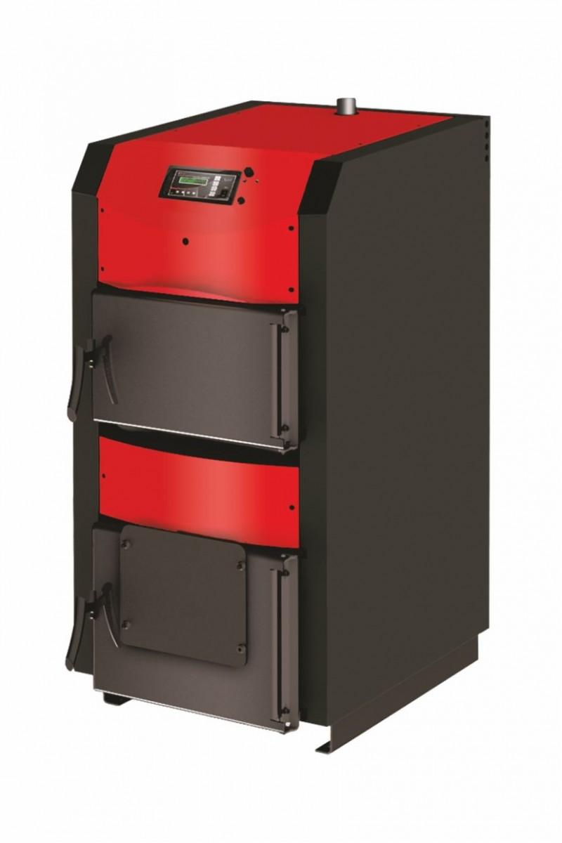 Centrala termica pe lemn cu semigazeificare BURNIT WBS Active 90 kW