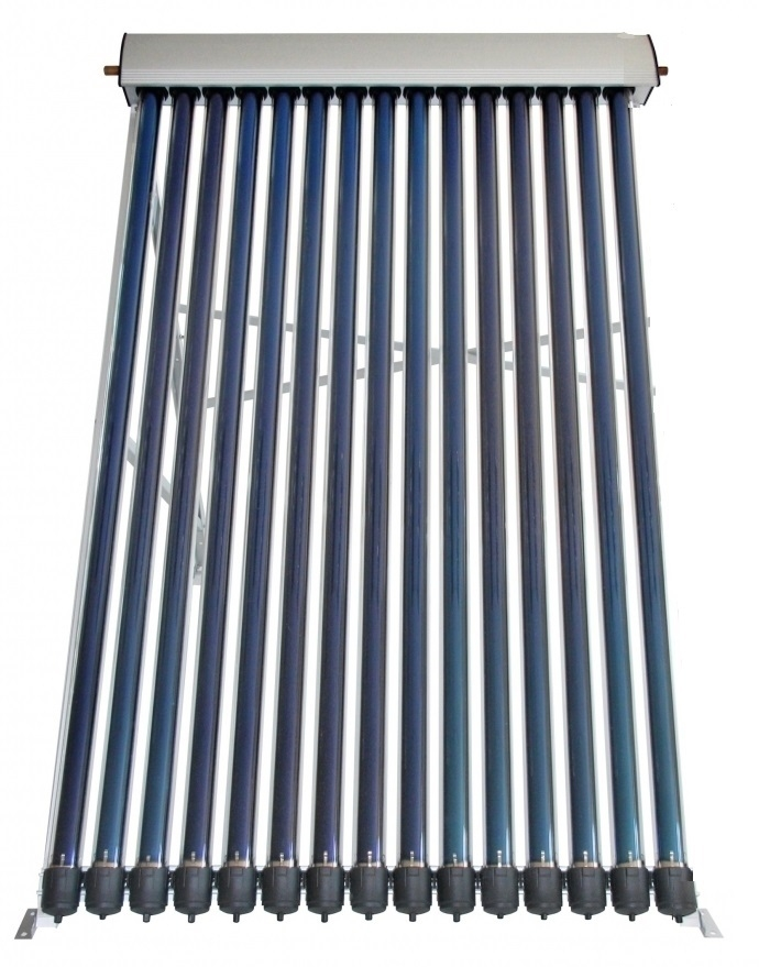 Panou solar presurizat cu 15 tuburi termice