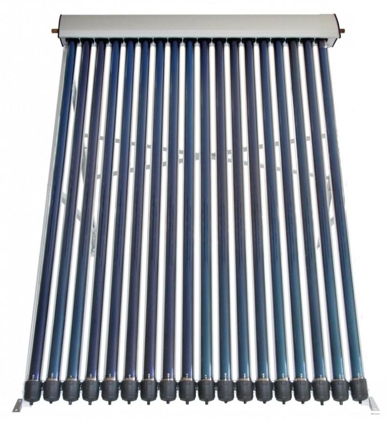 Panou solar presurizat cu18 tuburi termice