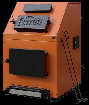 Centrala termica pe lemn Ferroli FSB 3 - 250 Max, cu trei drumuri de fum