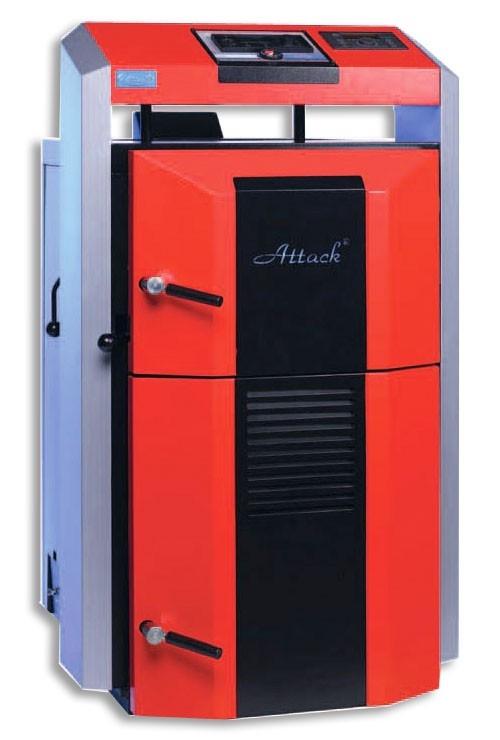 Centrala termica pe lemn cu gazeificare ATTACK 95 DP PROFI
