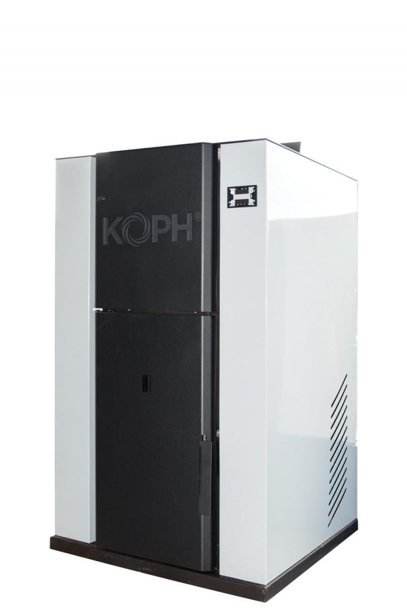 Centrala termica pe peleti PM 40 kW - culoare gri