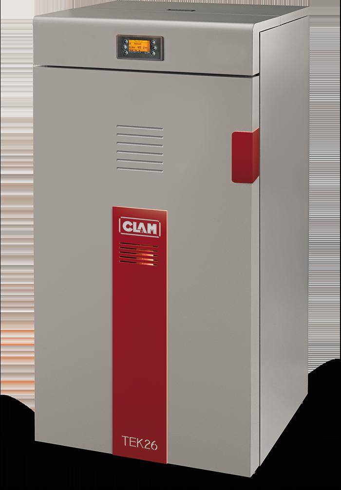 Centrala termica pe peleti CLAM TEK 26 kW
