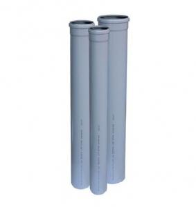 TEAVA PVC CU MUFA SI GARNITURA PT CANALIZARE GRI, D.50X1.6 mm L=2m