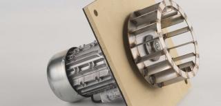 Centrala termica pe peleti CalorCaldaie ECOGEN - ventilator de tiraj