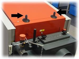 Centrala termica pe lemn cu gazeificare ATMOS DC25S 25 kW - racorduri serpentina de racire de siguranta