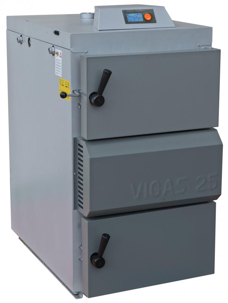 Centrala termica pe lemn cu gazeificare VIGAS.25LC 25 kW