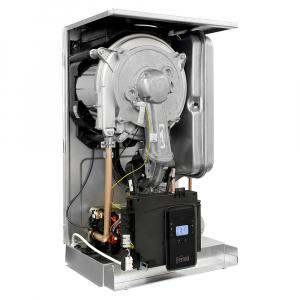 Centrala termica in condensatie combi BLUEHELIX ALPHA - vedere interioara