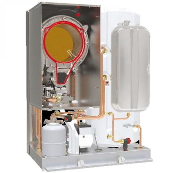 Centrala termica pe gaz in condensatie cu boiler BLUEHELIX TOP RRT 28/34 K 50 - vedere interioara