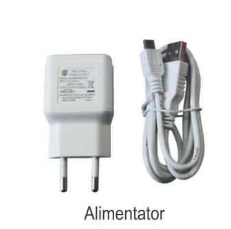 Termostat ambiental cu radiofrecventa RF si WiFi FERROLI CONNECT - alimentator