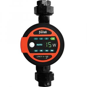 Pompa de circulatie electronica cu eficienta ridicata FERROLI LPA 25-6/180 - vedere frontala