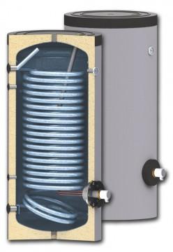 poza Boiler cu serpentina marita pentru instalatii cu pompe de caldura model SWPN 150