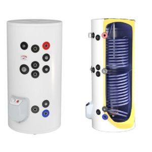 poza Boiler termoelectric emailat cu doua serpentine Eldom Green Line - 150 litri