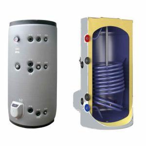poza Boiler termoelectric emailat cu doua serpentine Eldom Green Line - 750 litri