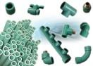 Poza Tevi din PPR verde pentru instalatii toate marimile