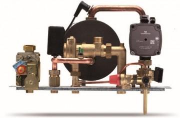 Poza Centrala termica pe gaz ARCA ECOFAST - grup hidraulic