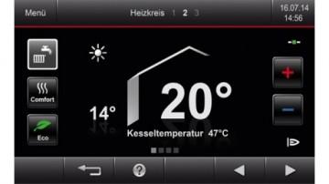 Poza Centrala termica pe gaz in condensatie Vitodens 200-W - touchscreen