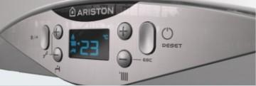 Poza Centrala termica pe gaz in condensatie ARISTON CARES PREMIUM - panou de comanda