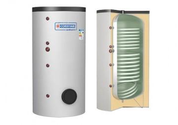Poza Boiler termoelectric emailat cu doua serpentine CORDIVARI BOLLY FIT 200 litri