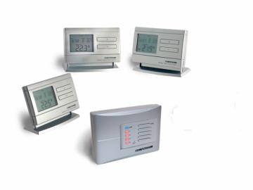 poza Termostate Computherm Q8 RF  ambiental wireless cu trei termostate programabile individual