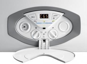 Poza Centrala termica condensatie Ariston Clas B Premium Evo cu boiler incorporat panou de comanda