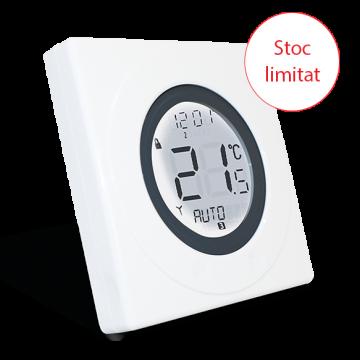 Poza Termostat programabil cu fir si inel tactil Salus ST620