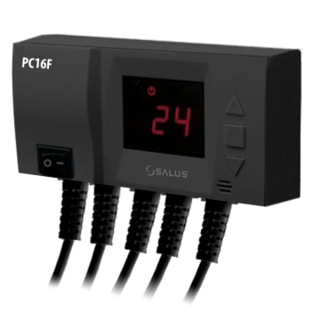 poza Controler electronic pentru pompa si ventilator Salus PC16F