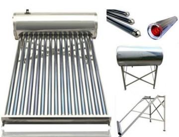 poza Panou solar Q Solar Premium nepresurizat boiler INOX 150 litri 15 tuburi