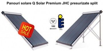 poza Panou solar cu 12 de tuburi vidate Q Solar Premium