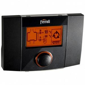 poza Regulator digital Ferroli ecoKOM 200T pentru centrale termice si termoseminee