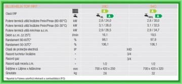 Poza Centrale termice pe gaz in condensatie Ferroli BLUEHELIX TOP RRT - fise tehnice