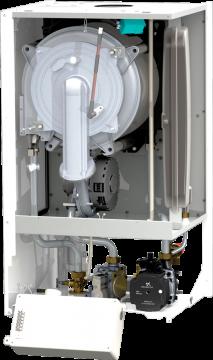 Poza Centrala termica pe gaz Motan MKDENS 35 TERMO - vedere interioara