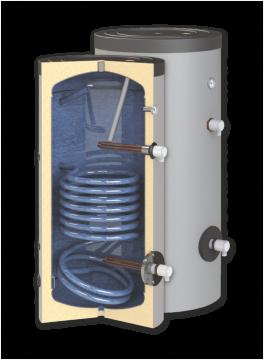 poza Boiler de apa calda cu acumulare SUNSYSTEM SN 400 1S