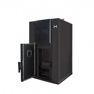 Poza Centrala termica pe peleti PM 35 kW - culoare neagra
