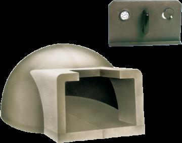 poza Cuptor pe lemne pentru paine prefabricat CLAM F110