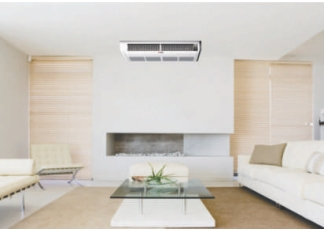 Poza Aparat de aer conditionat CHIGO DC-INVERTER - exemplu de montaj unitate interioara la tavan