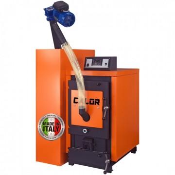 poza Centrala termica pe peleti CalorCaldaie ECOGEN 40 40 kW