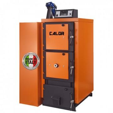 poza Centrala termica mixta pe lemn si peleti CalorCaldaie MX Automatica 53