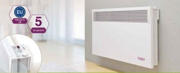 Poza Convector electric cu termostat electronic Tesy CN03 EIS W - exemplu de montaj