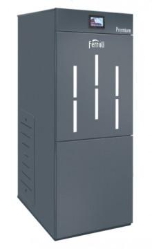 Poza Centrala termica pe peleti cu autocuratare Ferroli BioPellet Premium