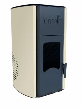poza Termosemineu pe peleti FORNELLO ROYAL 30 kW