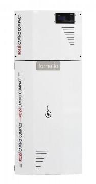 Poza Centrala termica pe peleti ROSSI CAMINO COMPACT 35 kW - vedere din fata