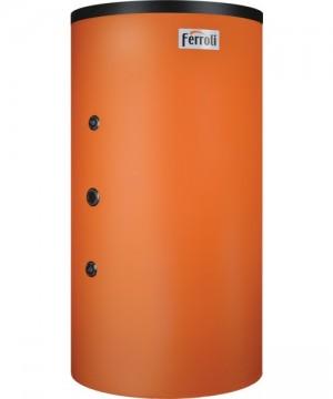 poza REZERVOR DE ACUMULARE COMBINAT (PUFFER) TIP TANK-IN-TANK FERROLI FB-T2 600 cu doua serpentine, capacitate 600/150 litri